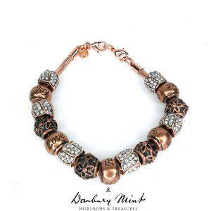 Danbury Mint Nature's Flourish Charm Bracelet